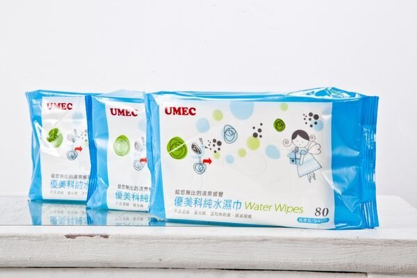『121婦嬰用品館』優美科 純水濕紙巾80抽/12包/箱