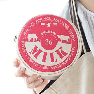 現貨。牧場直送鮮乳。裕子的店牛奶蓋造型化妝包/收納包。(草莓/低脂/焦糖 共3色)【jp1220-184】