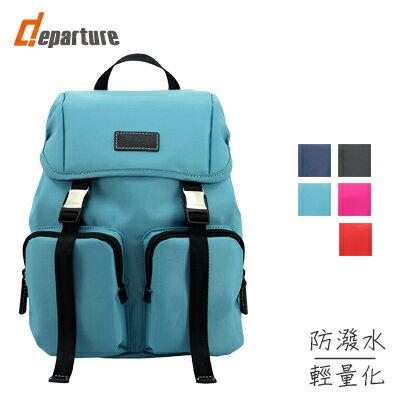雙肩帶 提/背兩用包 -藍綠 :: departure 旅行趣∕ BP039 - 限時優惠好康折扣