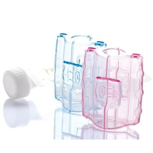 『121婦嬰用品』六甲村 旅行用組合包/拋棄式奶瓶(250mlx5入) + 手握器 + 奶嘴蓋組 3