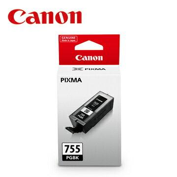 CANON 佳能 PGI-755BK 超大容量黑色墨水匣