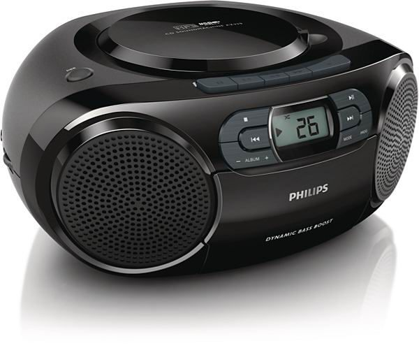 PHILIPS 飛利浦 AZ329 手提CD/MP3/USB/卡帶音響
