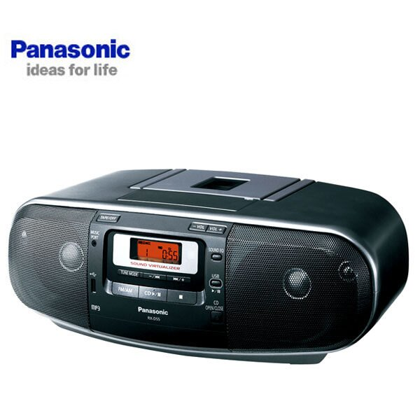 Panasonic 國際牌 RX-D55K 手提音響