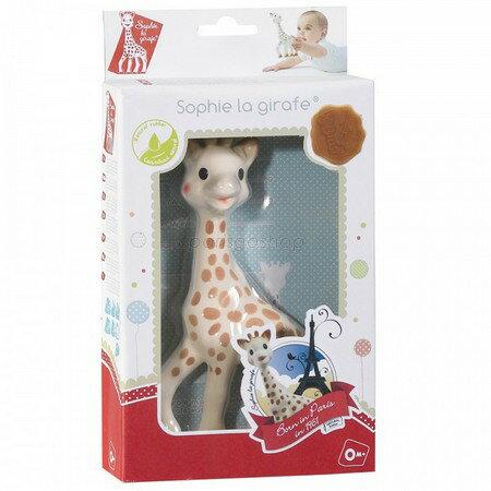 最新包裝 法國Vulli 長頸鹿蘇菲固齒器 禮盒裝【巴黎好購】 - 限時優惠好康折扣