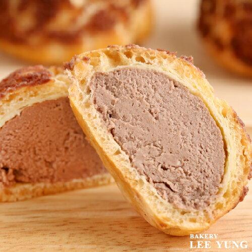 冰心波蘿泡芙 香濃巧克力 冰鎮後感受頂級冰淇淋口味 8入/盒