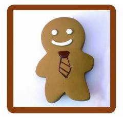 【LOHAS BULL】天然乳膠啾啾玩具-可愛薑餅人
