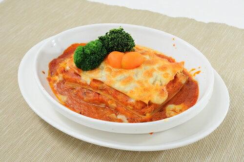 西西里蕃茄杏鮑菇千層麵