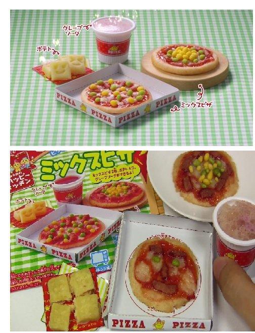 有樂町 新品 日本 食玩佳麗寶 Kracie 快樂廚房手作披薩(30g) 4901551354863 1