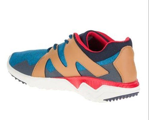 MERRELL 1SIX8 LACE 男 休閒鞋 藍咖啡 健行鞋│休閒鞋│運動鞋 9