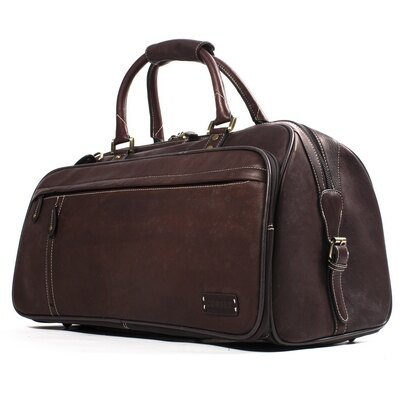 Woodland Leather The Explorer Leather Holdall (brown) 0
