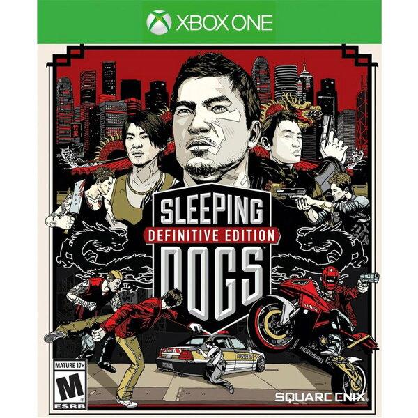 XBOX ONE 睡犬 決定版 英文美版 Sleeping Dogs 香港秘密警察