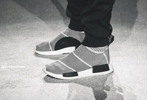 Adidas NMD City Sock  NMD高幫  條紋夜光 情侶鞋36-44