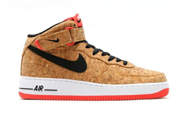 "Nike Air Force 1 Mid ""Cork"" AF1 軟木塞  男女情侶鞋"