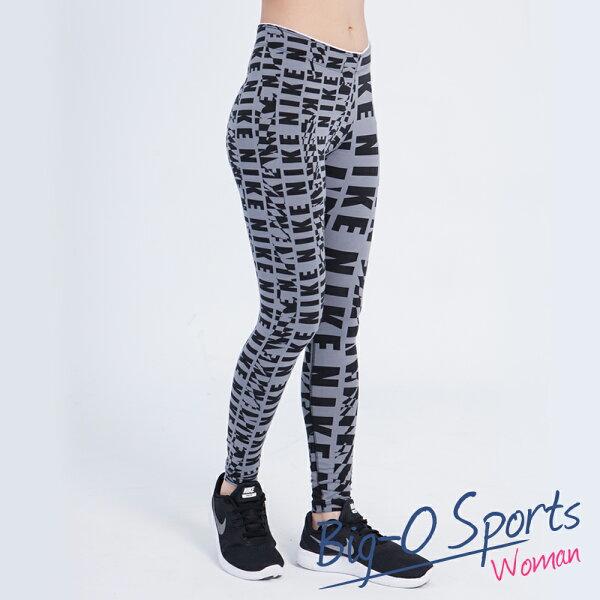 NIKE 耐吉 NIKE CLUB LEGGING-AOP  緊身運動長褲  女 725795065 Big-O Sports
