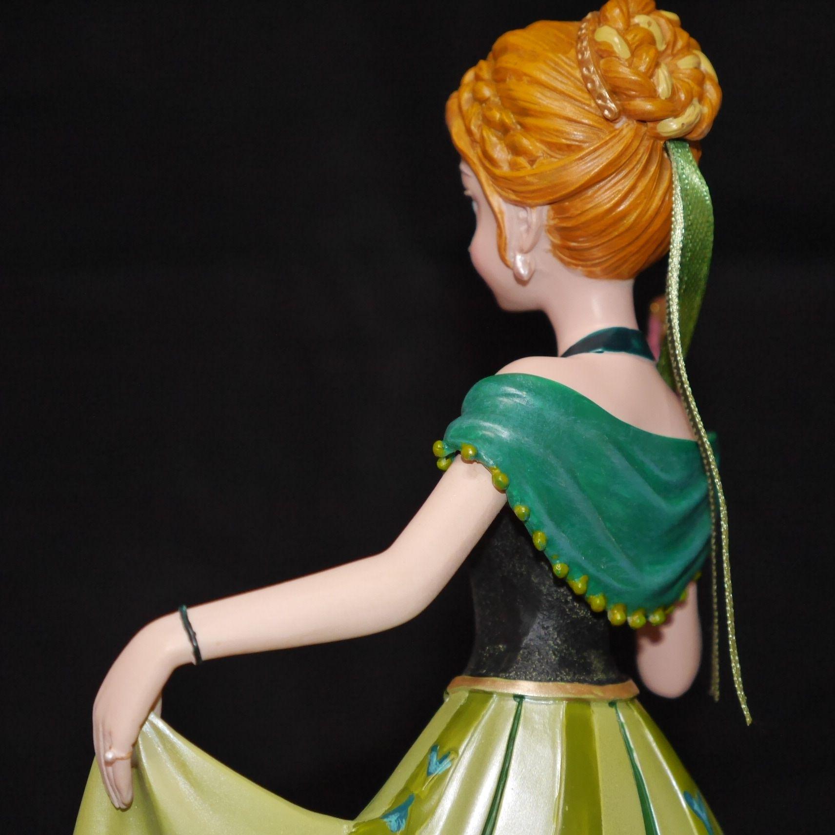 冰雪奇緣安娜Anna公主*精品/裝飾/擺飾/玩具《美國Enesco精品,迪士尼典藏超精美人偶》【曉風】 5
