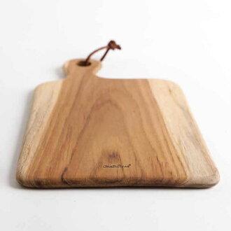 生活大發現-HABATREE LYRA TINY SERVING BOARD*S 料理砧板/食物盤 柚木(CU068)