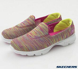 [陽光樂活] 出清價  SKECHERS (女) 健走系列 GO Walk 3 -13987MULT