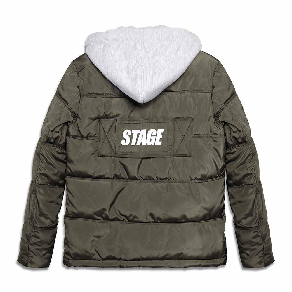 STAGEONE STG  COAT 黑色 / 綠卡其色 兩色 4