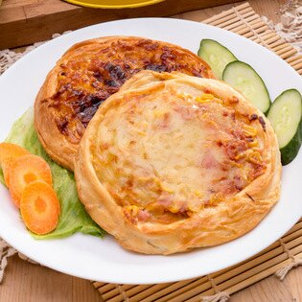 pizza披薩烤餅 冷凍(840g/包,6片)【AD42】品勝小廚師