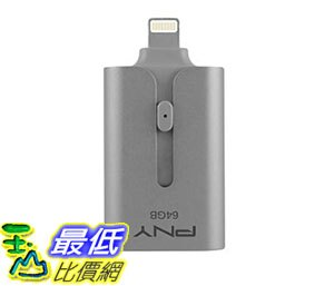 美國直購 記憶體 PNY 64GB Duo~Link USB 3.0 Flash Driv