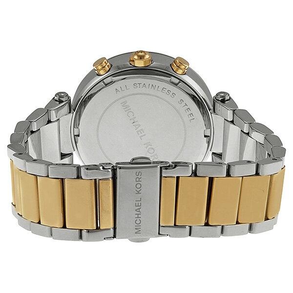 美國Outlet正品代購 MichaelKors MK  金銀色陶瓷 水鑽 三環 手錶 腕錶 MK5626 5