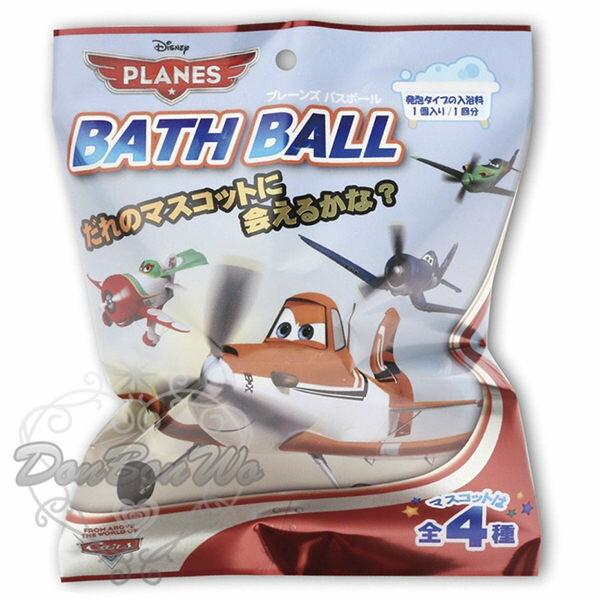 飛機總動員入浴劑泡澡球內含模型四款657491海渡