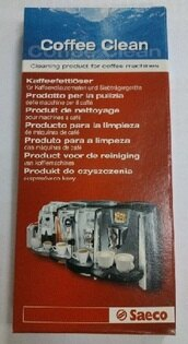 PHILIPS 飛利浦 seaco coffee clean 咖啡機專用清潔錠(1盒10錠) -適用(RI9719/RI9840/HD8327/HD8761/HD8751等)