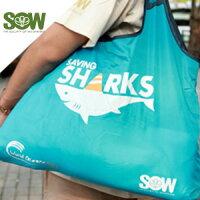 世界地球日,環保愛地球到【搭配二】愛鯊環保購物袋
