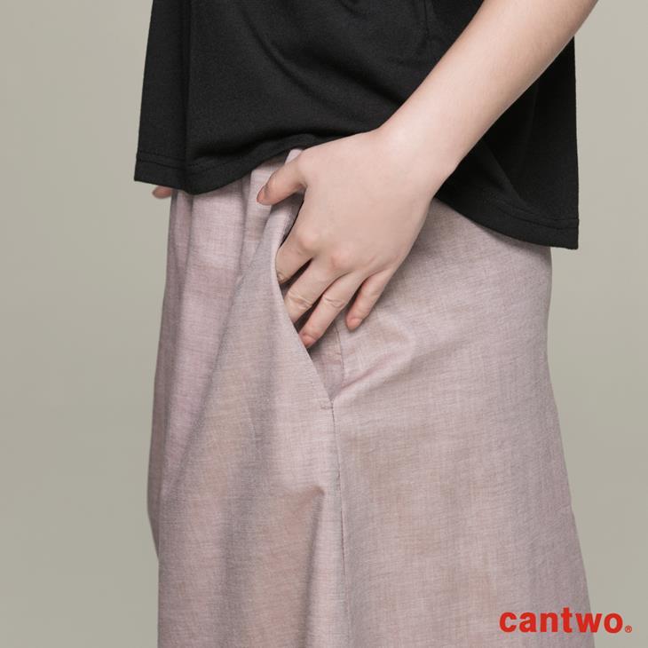 cantwo素面一字領假兩件洋裝(共二色) 5