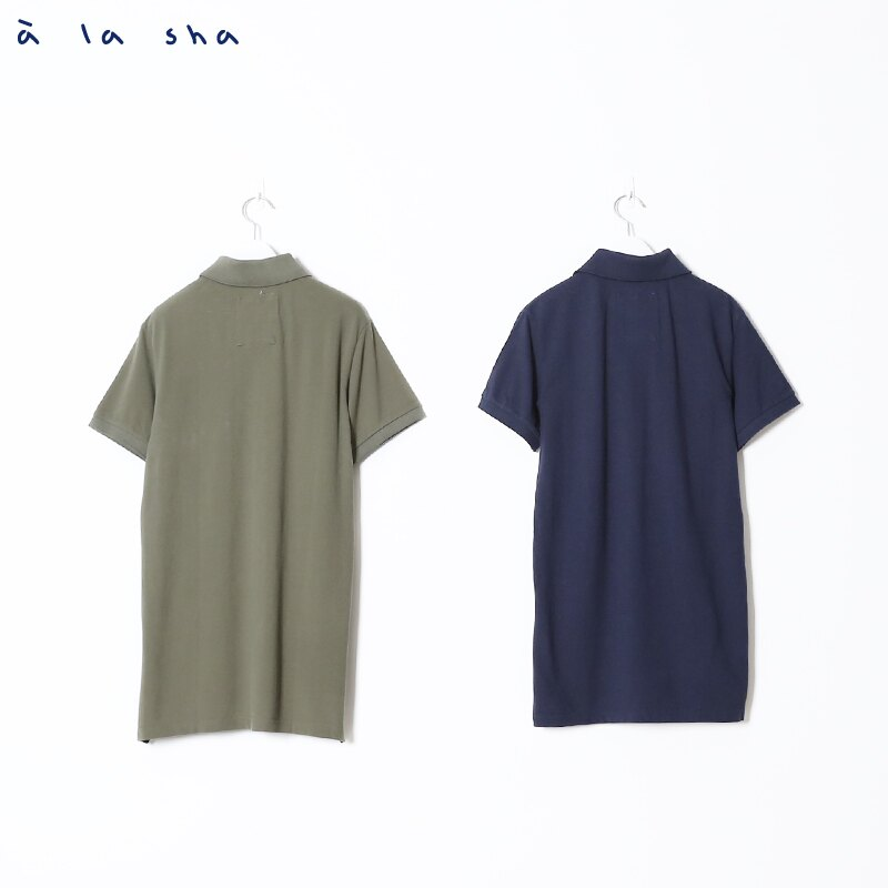 a la sha enco 阿福印花POLO衫(男) 3