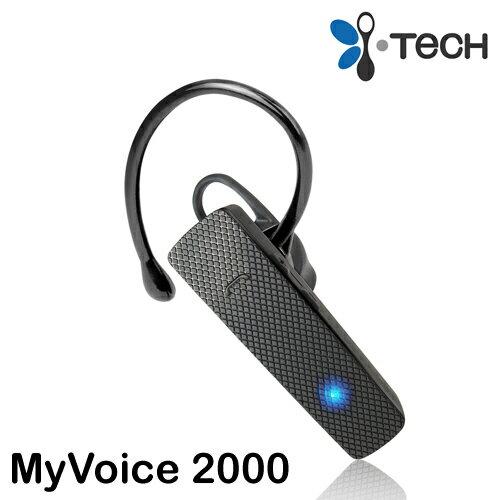 i-Tech MyVoice 2000 商務型掛耳藍牙耳機 ◆雙待機多方配接◆HD高清通話