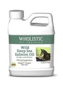 ★優逗★ Wholistic Pet Organics 護你姿 野生深海鮭魚油 犬 4oz/4盎司