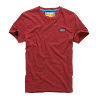 Superdry極度乾燥商品推薦美國百分百【Superdry】極度乾燥 T恤 上衣 T-shirt 短袖 短T 經典 豬肝紅 logo 素面 S M L XL XXL號 F235