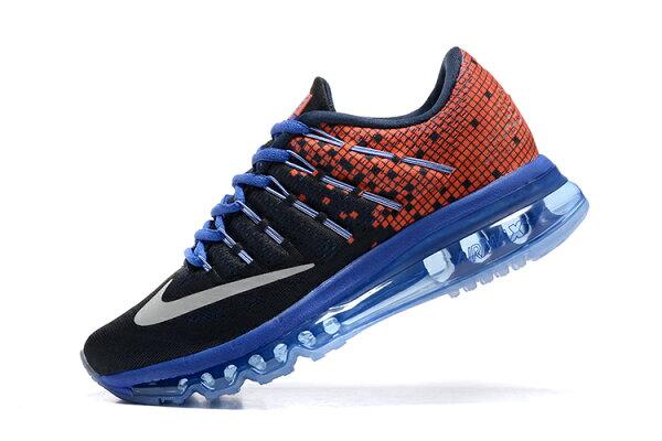 NIKE Air Max 2016 女生氣墊跑鞋 運動鞋 全掌氣墊女子鞋 黑紅藍