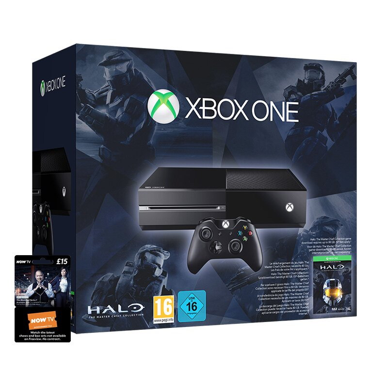 Xbox One Halo Master Chief Bundle (inc Now TV Entertainment 3 Month Pass) 0