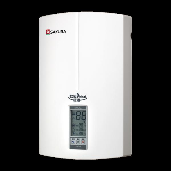 (櫻花)數位恆溫電熱水器-SH-118