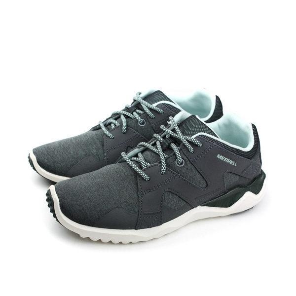 MERRELL 戶外運動鞋 女鞋 灰綠色 0