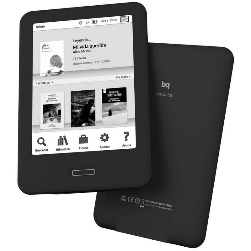 BQ NUEVO CERVANTES 4GB EBOOK E-READER OUTLET 1