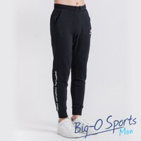New Balance 美國慢跑鞋/跑步鞋推薦NB New Balance 慢跑系列 棉質針織束口長褲 男 AMP63639BK Big-O Sports