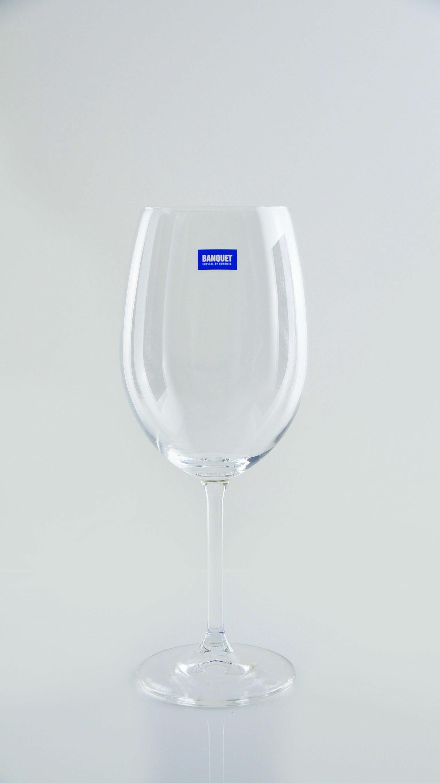 【曉風】水晶紅酒杯6入裝《Banquet Crystal 波爾多水晶紅酒杯*葡萄酒杯 580ml 》 1