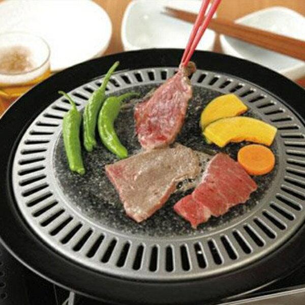 日本進口 味覺探訪天然石圓形燒烤盤 MR-7387 0