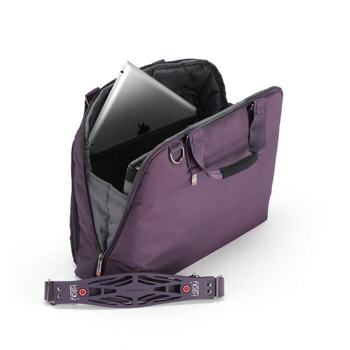 iStay Ladies Non-Slip Laptop Bag 15.6 inch (purple) 2