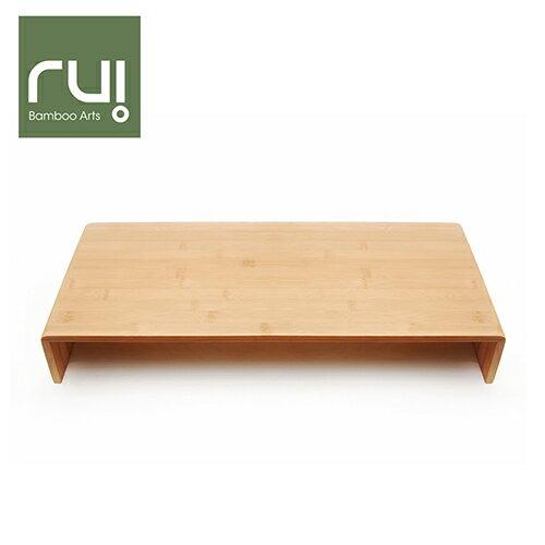 【Rui】台灣竹手工螢幕架(收納盒 木工藝 辦公用品)