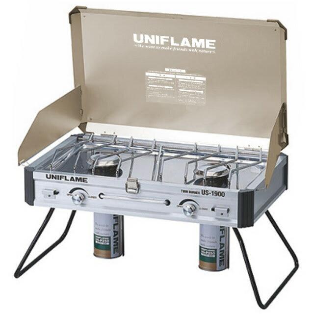 UNIFLAME金色版 US-1900 行動廚房瓦斯爐 不鏽鋼瓦斯雙口爐 610329 - 限時優惠好康折扣