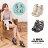 格子舖*【KD729】MIT台灣製 百搭時尚交叉繞帶皮革前4後10CM厚底楔型拉鍊羅馬涼鞋 2色 0