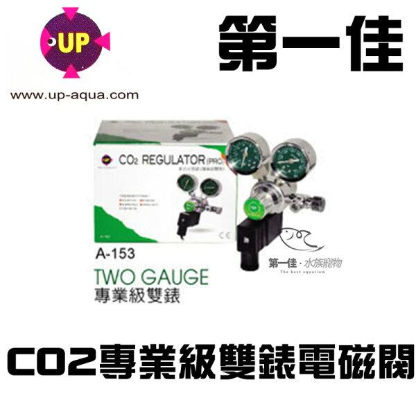 [第一佳 水族寵物] 台灣UP雅柏 CO2專業級雙錶電磁閥 A-153