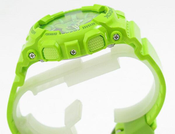 國外代購 CASIO G-SHOCK 摩登翠綠  GMA-110CC-3A   防水 手錶 腕錶 電子錶 男女錶 3