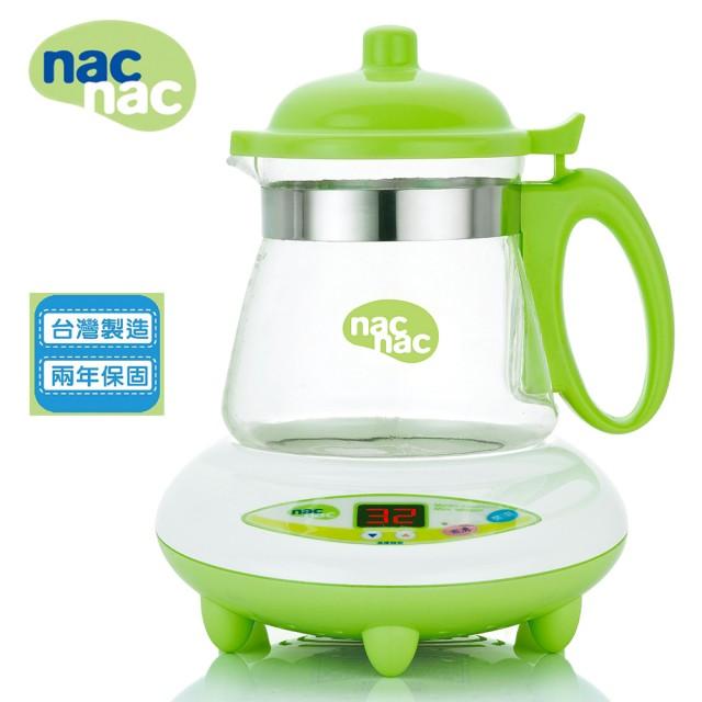 【贈調乳保溫容器】【安琪兒】台灣【Nac Nac】微電腦溫煮兩用調乳器TM-602H 1