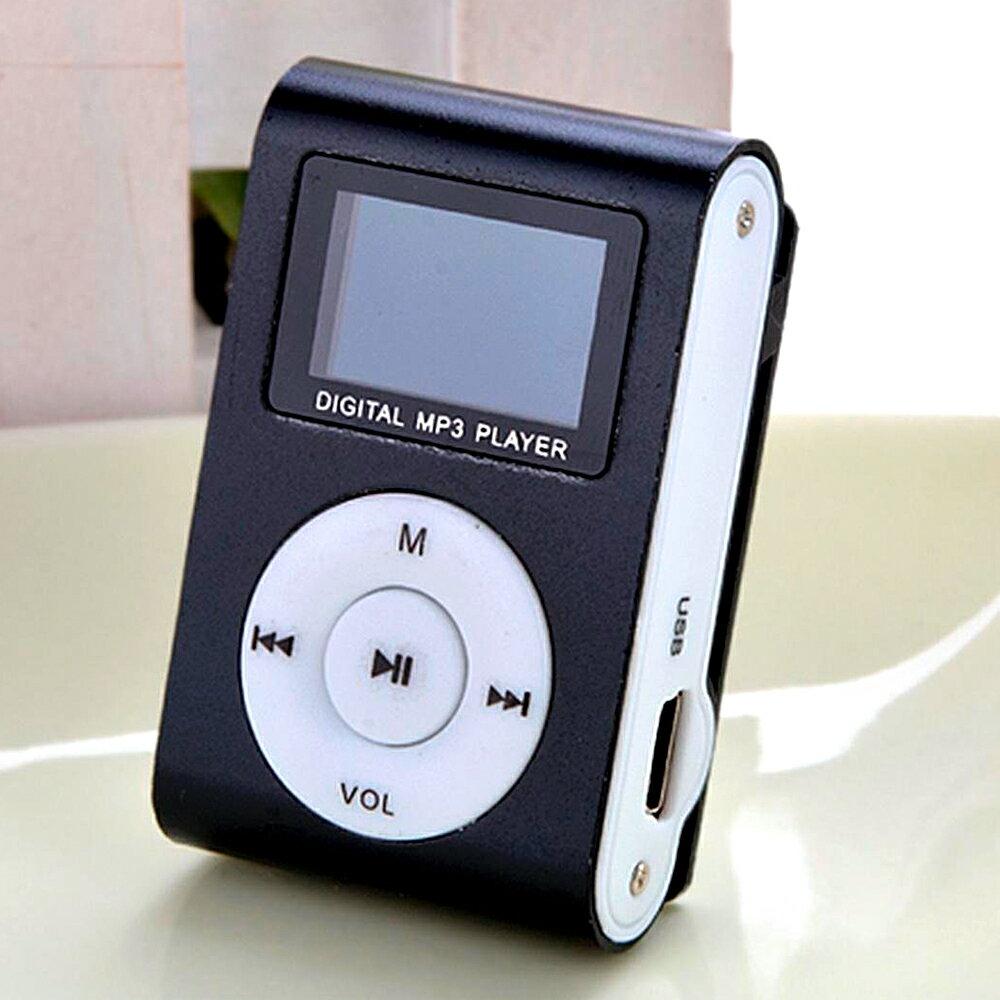 MP3 NEGRO CON PANTALLA DIGITAL, FM RADIO, MP3/WMA MUSIC, AUDIO IN 0