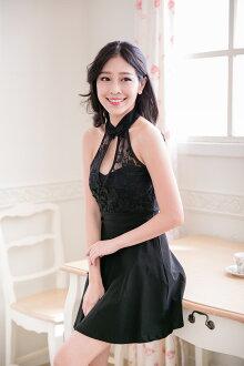 PMQueen白羽夜后洋裝禮服[#30039]旗袍式現代洋裝